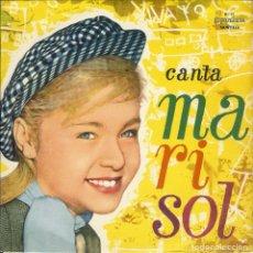 Discos de vinilo: MARISOL DISCO EDICION DE BRASIL CON 6 CANCIONES Y A 33 RPM ESTANDO CONTIGO Y OTRAS VER OTRA FOTO. Lote 112652991