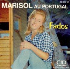 Discos de vinilo: MARISOL DISCO DE 4 CANCIONES EDICION DE FRANCIA COIMBRA - UNA CASA PORTUGUESA - LISBOA ANTIGUA -. Lote 112653403