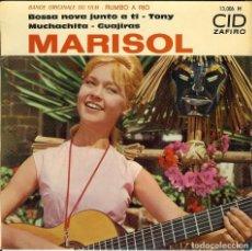 Discos de vinilo: MARISOL DISCO DE 4 CANCIONES EDICION DE FRANCIA BOSSA NOVA JUNTO A TI - MUCHACHITA - TONY - . Lote 112653515