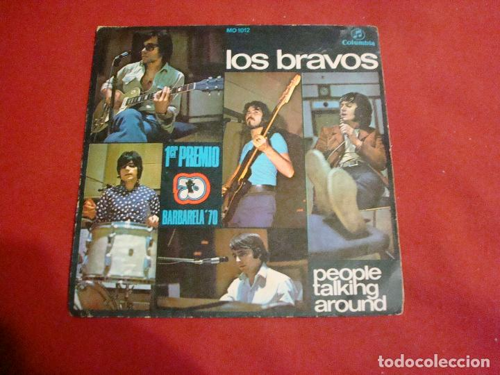Discos de vinilo: los bravos people talking around 1970 buen sonido sello columbia - Foto 1 - 112655247