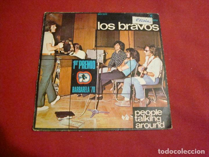Discos de vinilo: los bravos people talking around 1970 buen sonido sello columbia - Foto 2 - 112655247