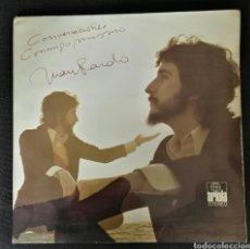 Discos de vinilo: JUAN PARDO CONVERSACIONES CONMIGO MISMO LP DISCO. Lote 112657786