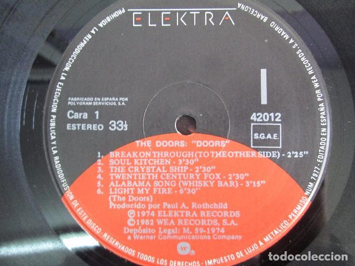 Discos de vinilo: THE DOORS. LP VINILO. ELECTRA RECORDS 1982. VER FOTOGRAFIAS ADJUNTAS - Foto 4 - 112657903