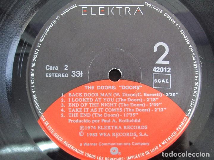 Discos de vinilo: THE DOORS. LP VINILO. ELECTRA RECORDS 1982. VER FOTOGRAFIAS ADJUNTAS - Foto 6 - 112657903