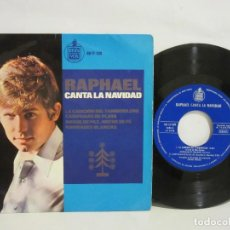 Discos de vinilo: RAPHAEL - RAPHAEL CANTA LA NAVIDAD - 4 TEMAS - 1965 - EP - SPAIN - VG/VG. Lote 112658235