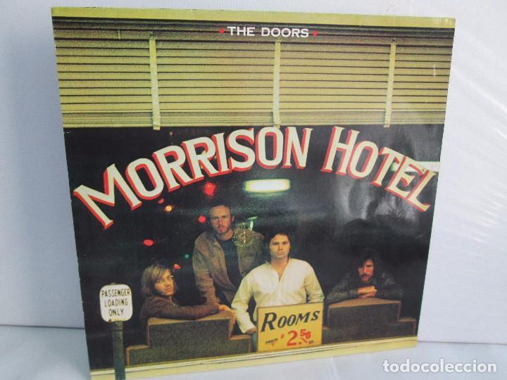 THE DOORS. MORRISON HOTEL. LP VINILO. ELEKTRA RECORDS 1973. VER FOTOGRAFIAS (Música - Discos - LP Vinilo - Pop - Rock Internacional de los 50 y 60)