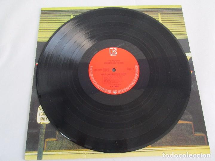 Discos de vinilo: THE DOORS. MORRISON HOTEL. LP VINILO. ELEKTRA RECORDS 1973. VER FOTOGRAFIAS - Foto 3 - 112658947