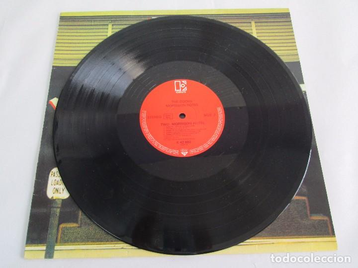 Discos de vinilo: THE DOORS. MORRISON HOTEL. LP VINILO. ELEKTRA RECORDS 1973. VER FOTOGRAFIAS - Foto 5 - 112658947