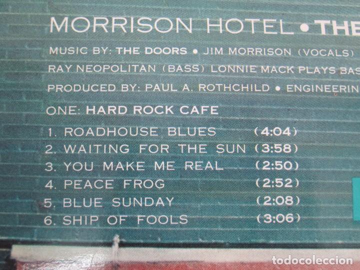 Discos de vinilo: THE DOORS. MORRISON HOTEL. LP VINILO. ELEKTRA RECORDS 1973. VER FOTOGRAFIAS - Foto 7 - 112658947