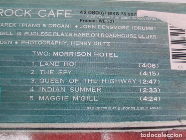 Discos de vinilo: THE DOORS. MORRISON HOTEL. LP VINILO. ELEKTRA RECORDS 1973. VER FOTOGRAFIAS - Foto 8 - 112658947