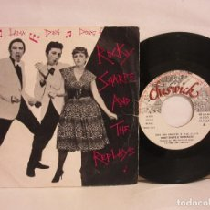 Discos de vinilo: ROCKY SHARPE AND THE REPLAYS - RAMA LAMA DING DONG - SINGLE 1979 - SPAIN - VG/VG. Lote 112659055