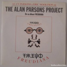 Discos de vinilo: THE ALAN PARSONS PROJECT.. FREUDIANA.(EMI 1990).SPAIN. Lote 112665075