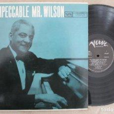 Discos de vinilo: TEDDY WILSON THE IMPECCABLE MR.WILSON LP VINYL MADE IN GERMANY . Lote 112666103