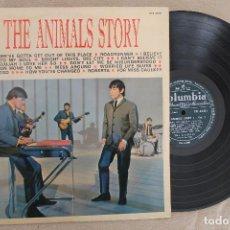 Discos de vinilo: THE ANIMALS STORY VOL.2 LP VINYL MADE IN FRANCE 1965. Lote 112666499