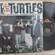Discos de vinilo: THE TURTLES IT AIN'T ME BABE LP VINYL MADE IN GERMANY 1965. Lote 112666615