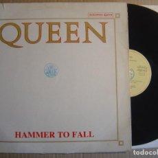 Discos de vinilo: MAXI SINGLE 1984 - QUEEN - HAMMER TO FALL - EMI. Lote 112679875