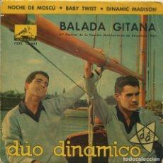 Disques de vinyle: DUO DINAMICO / BALADA GITANA + 3 (EP 1962). Lote 112681563