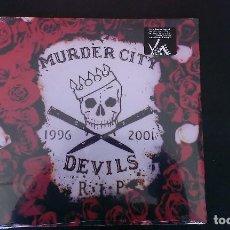 Discos de vinilo: LP THE MURDER CITY DEVILS R.I.P. GARAGE ROCK. Lote 112695775