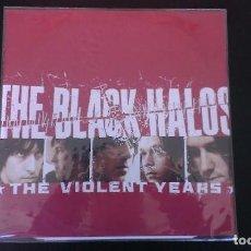 LP THE BLACK HALOS THE VIOLENT YEARS VINILO ROJO PUNK ROCK ALTERNATIVO