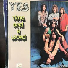 Discos de vinilo: TIME AND A WORD. YES. Lote 112699146