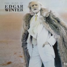 Discos de vinilo: LP EDGAR WINTER: THE BEST OF (EDIC. GERMANY 1990). Lote 112700911