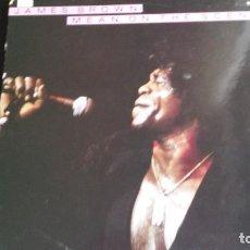 Discos de vinilo: LP JAMES BROWN: MEAN ON THE SCENE (LIVE EDIC. CANADA 1988). Lote 112701523