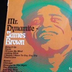 Discos de vinilo: LP JAMES BROWN: MR. DYNAMITE. Lote 112701559