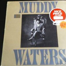 Discos de vinilo: LP MUDDY WATERS: KING BEE (EDIC. HOLLAND 1981). Lote 112702883
