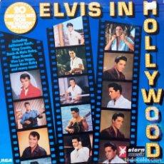 Discos de vinilo: ELVIS PRESLEY. IN HOLLYWOOD. LP ALEMANIA STERN MUSIK RCA. Lote 112708211