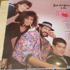 Discos de vinilo: LP JUAN LUIS GUERRA Y 4:40-BACHÁTA ROSA. Lote 112715027