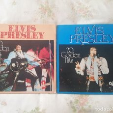 ELVIS PRESLEY Lot/Lote 2 LP 20 Golden Hits Vol. 2 & 3 ASTAN,Germany -Rock'n'Roll * Rarezas *