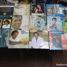Discos de vinilo: JULIO IGLESIAS / 14 SINGLES / SPAIN ESPAÑA . Lote 112723131