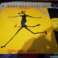 Discos de vinilo: N'TUTU MAXI GENESIS GOSPEL SINGERS.FRANCIA 1984. Lote 112726303