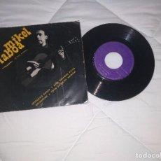 Discos de vinilo: MIKEL LABOA (EZ DOK AMAIRU ) URTSUAKO KANTA / 45 RPM / GOIZTIRI. Lote 112726823
