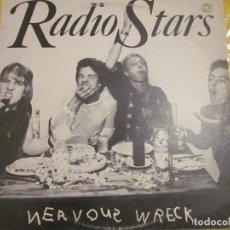 Discos de vinilo: RADIO STARS - NERVOUS WRECK - MAXI - EDICION INGLESA DEL AÑO 1977 - CHISWICK RECORDS.. Lote 112740803