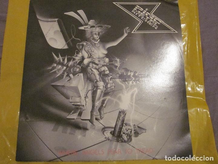 PINC METAL KITCHEN - WHERE ANGELS FEAR TO TREAD - MAXI - EDICION DEL AÑO 1989. (Música - Discos de Vinilo - Maxi Singles - Heavy - Metal)