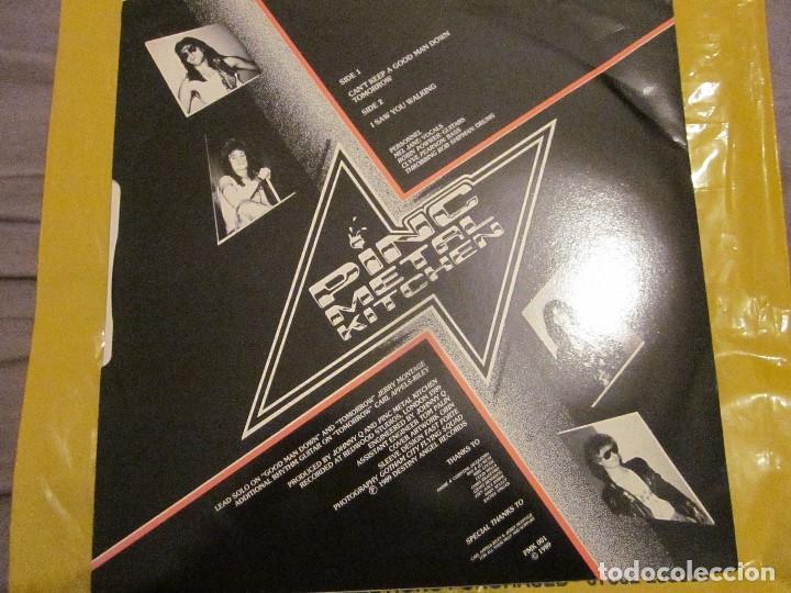 Discos de vinilo: PINC METAL KITCHEN - WHERE ANGELS FEAR TO TREAD - MAXI - EDICION DEL AÑO 1989. - Foto 2 - 112741651