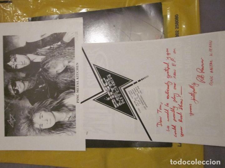 Discos de vinilo: PINC METAL KITCHEN - WHERE ANGELS FEAR TO TREAD - MAXI - EDICION DEL AÑO 1989. - Foto 3 - 112741651