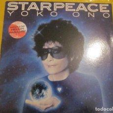 Discos de vinilo: YOKO ONO - STARPEACE - LP - EDICION PROMO USA DEL AÑO 1985.. Lote 112742575