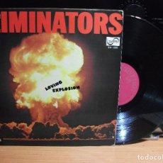 Discos de vinilo: THE ELIMINATORS LOVING EXPLOSION LP SPAIN 1974 PEPETO TOP . Lote 112743207