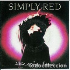 Discos de vinilo: SIMPLY RED, IT'S ONLY LOVE - MAXI-SINGLE SPAIN 1989 . Lote 112768787