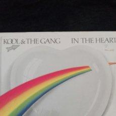 Discos de vinilo: KOOL THE GANG IN THE HEART. Lote 112778870