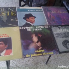 Discos de vinilo: LOTE PACK COLECCION 7 DISCOS VINILOS LPS JAZZ CROONERS LATIN - OPORTUNIDAD!!!!!!!!!!!!!!!!. Lote 112783979