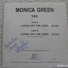 Discos de vinilo: MONICA GREEN - YES - COMPAÑIA CATALANA DE DISCOS 1990 - SINGLE - P. Lote 112805051