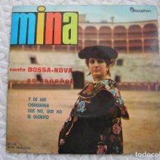 Discos de vinilo: MINA - CANTA BOSSA-NOVA EN ESPAÑOL - DISCOPHON 1962 - SINGLE - P. Lote 112805515
