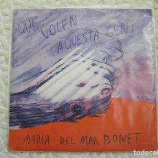 Discos de vinilo: MARIA DEL MAR BONET – QUE VOLEN AQUESTA GENT? - CONCENTRIC (2) 1968 - SINGLE - P. Lote 112808483