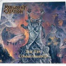 Discos de vinilo: LP MALEVOLENT CREATION - THE TEN COMMANDMENTS. Lote 112812755