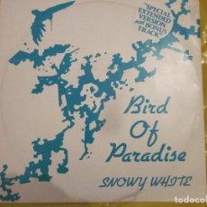 Discos de vinilo: SNOWY WHITE - BIRD OF PARADISE - EDICION INGLESA DEL AÑO 1983 - THIN LIZZY, PINK FLOYD.. Lote 112814819