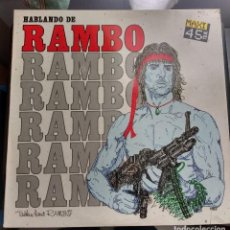 Discos de vinilo: L-VIRA - HABLANDO DE RAMBO (TALKIN 'BOUT RAMBO) . Lote 112817811