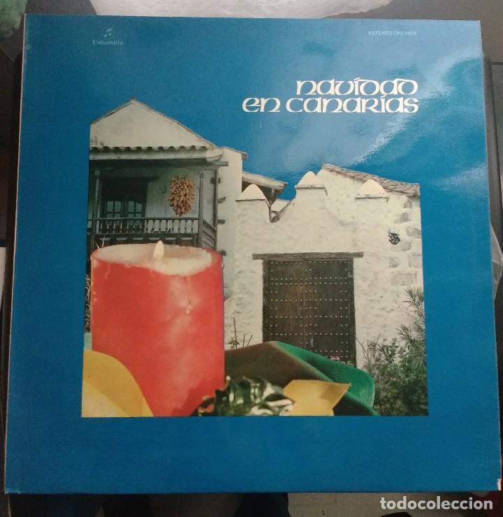 NAVIDAD EN CANARIAS LP 1975. (Música - Discos - LP Vinilo - Country y Folk)